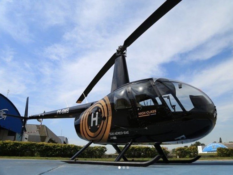 Passeio Panorâmico de Helicóptero pela Cidade de São Paulo