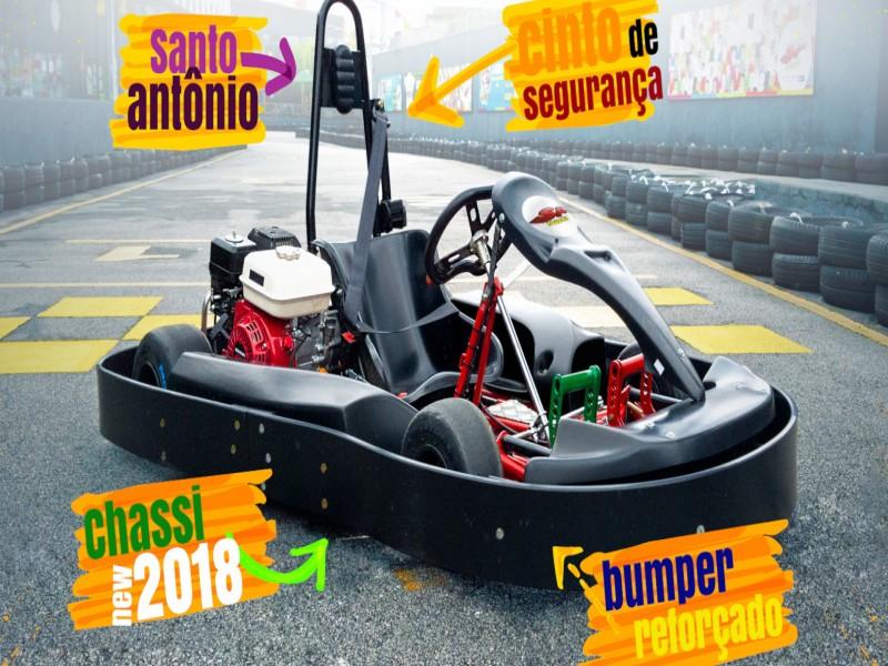 Bateria de Kart 6,5 hp de potência