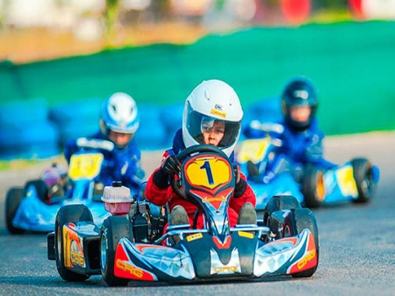 Bateria de Kart Infantil - 10 minutos