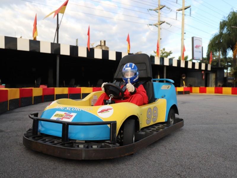Bateria de Kart Infantil - 20 minutos